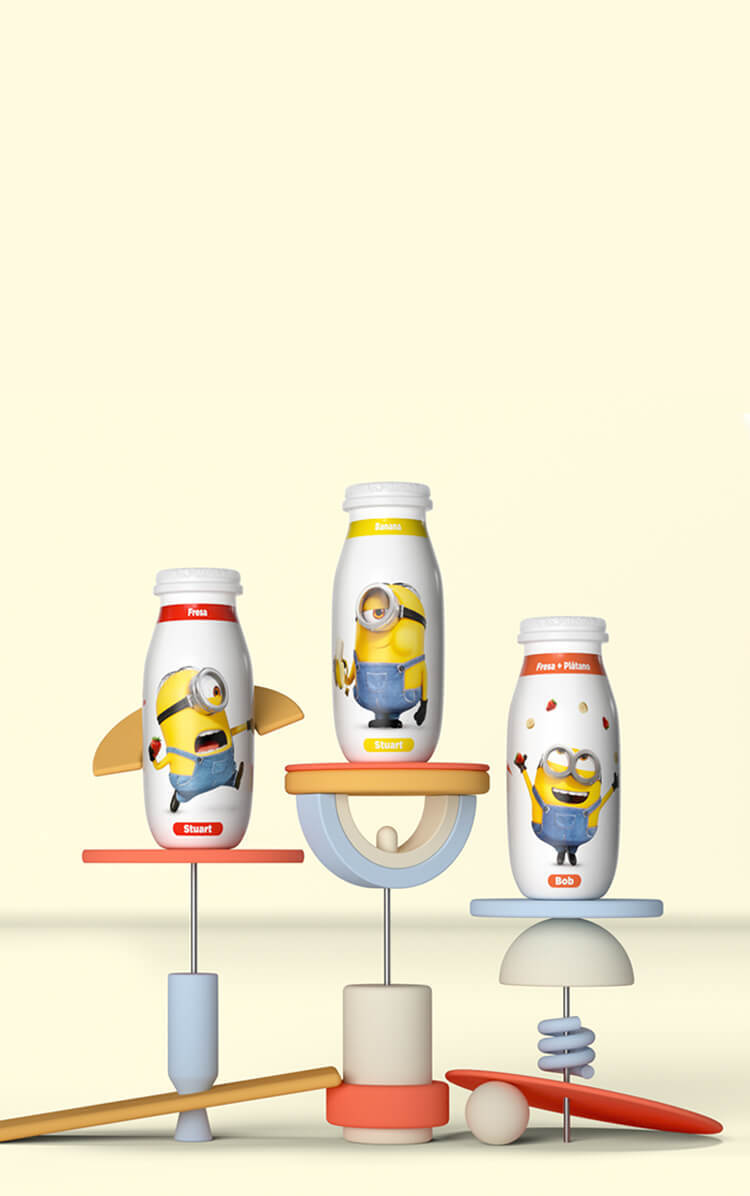 Actimel kids Mobile Background