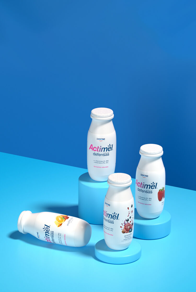Actimel entero Mobile Background